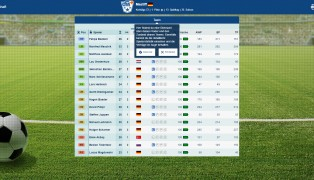 Online Fussball Manager screenshot2