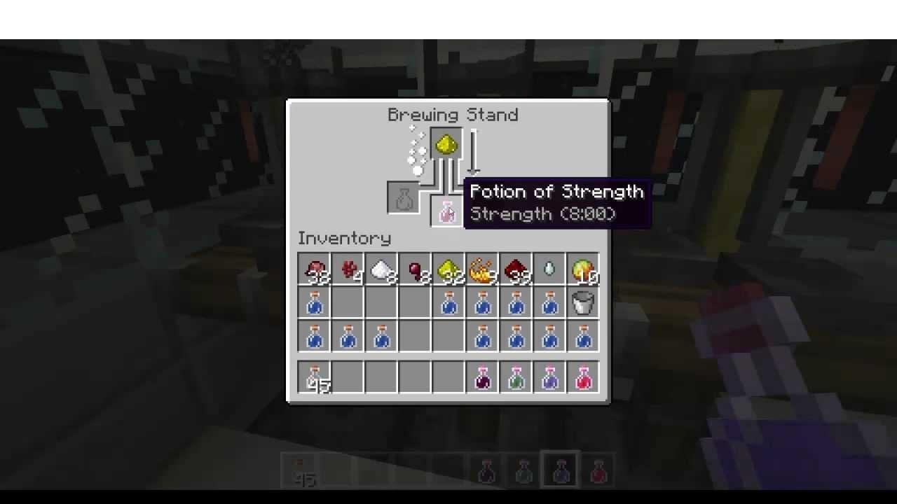 Minecraft - Brauen (1.9): Übersicht über das Brauen aller Tränke ...