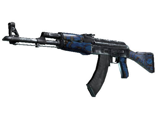 AK-47   Blue Laminate za darmo