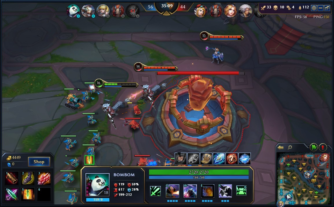 Heroes Evolved Moba Similar A League Of Legends Heroes Evolved