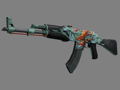 StatTrak™ AK-47 | Aquamarine Revenge za darmo
