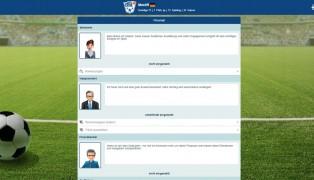 Online Fussball Manager screenshot3