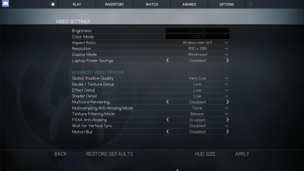 matchmaking paramètres CS aller