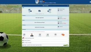 Online Fussball Manager screenshot1