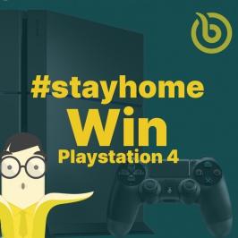 Blijf thuis en win een console