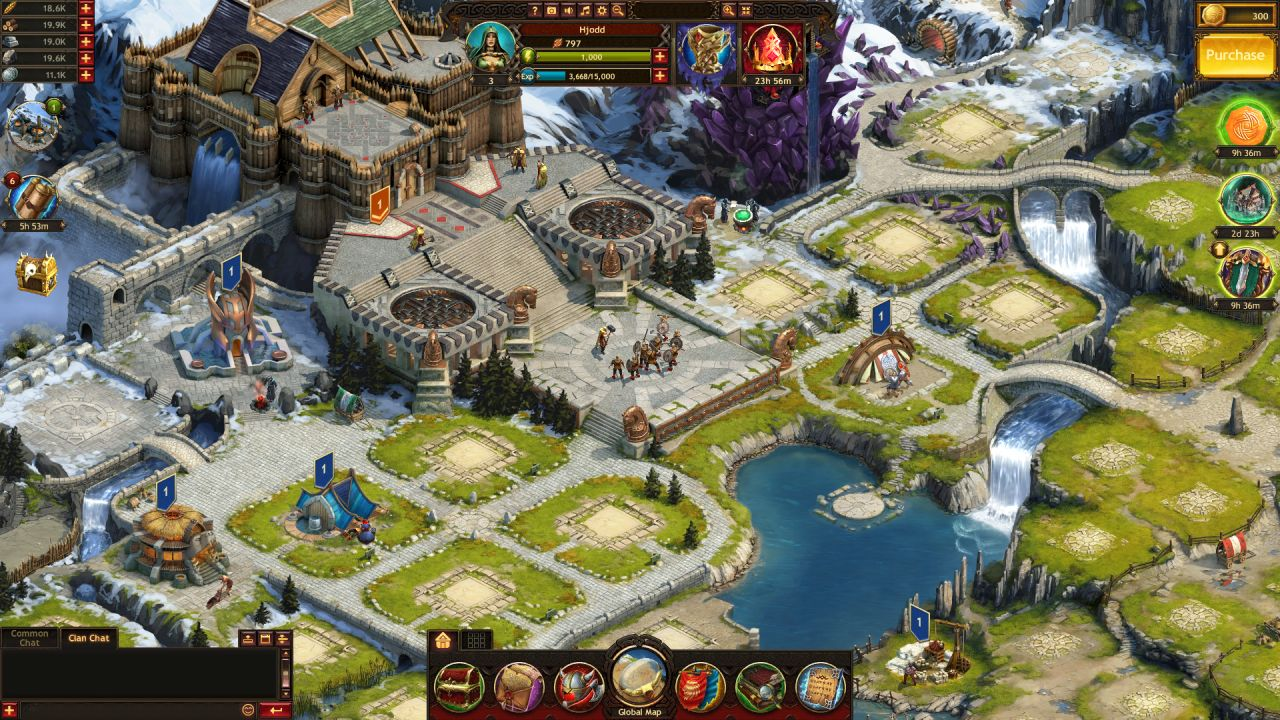 Play Vikings War Of Clans Finish Quests And Get Rewards😻