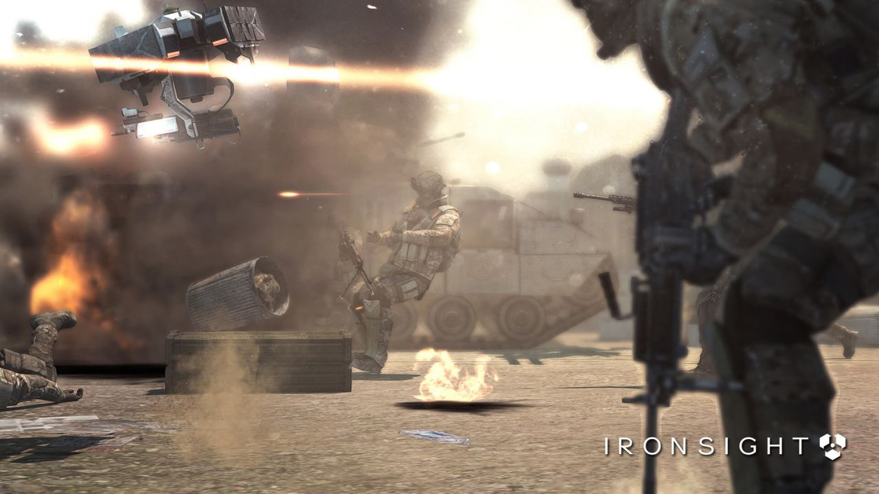 Play Ironsight, finish quests and get rewards😻