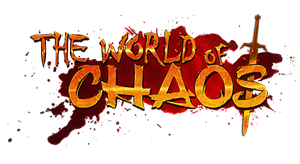 The World of Chaos logo