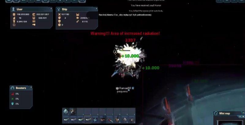 Play Dark Orbit, finish quests and get rewards😻