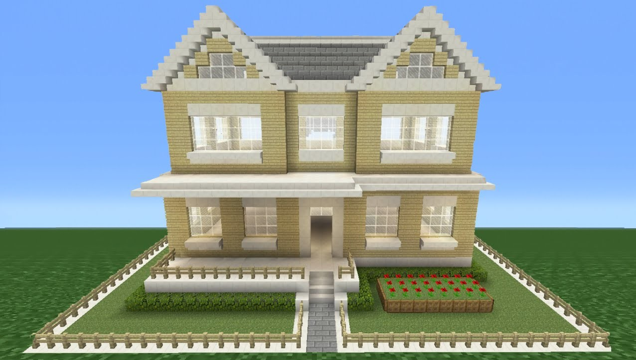 How To Build A Nice House Minecraft