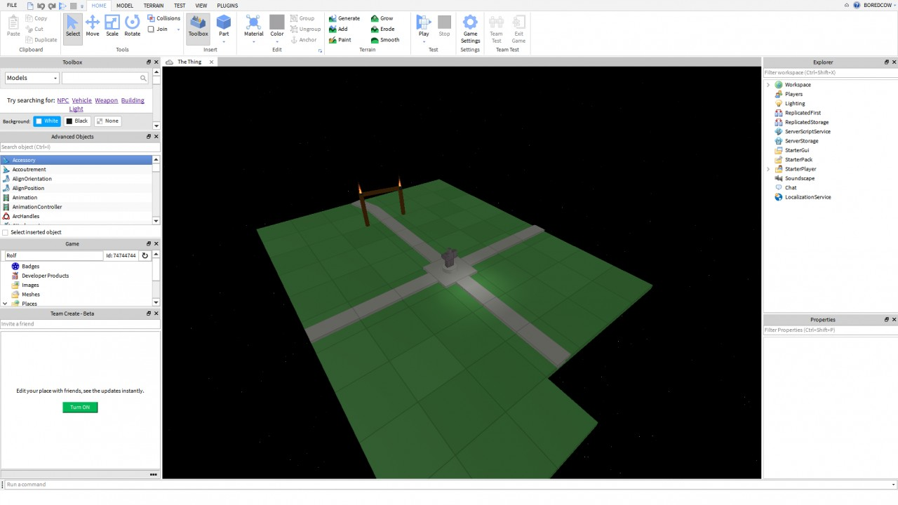 Roblox A Website Where Anyone Can Create Games And Play With