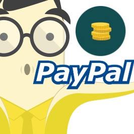 Top up your PayPal with real money!