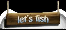 Let's Fish / На рыбалку! logo