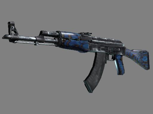 AK-47 | Blue Laminate za darmo