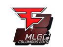 Sticker | FaZe Clan | MLG Columbus 2016 za darmo